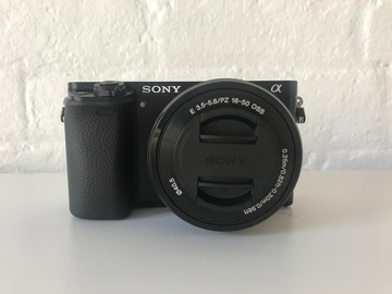 Rent: Sony Alpha a6000 Mirrorless Digital Camera w/ 16-50mm Lens