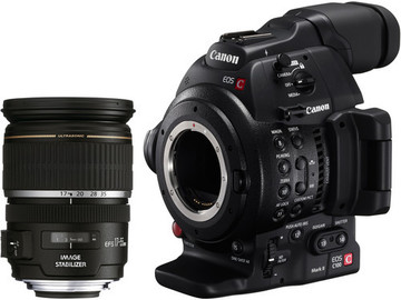 Rent: Canon EOS C100MK II with 17-55 Lens Kit (EF-S Mount)