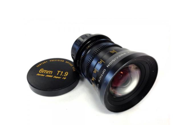 Century Optics 6mm T1.9 / 4.5mm T1.9 Super-16 Primes
