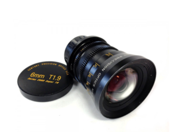 Rent: Century Optics 6mm T1.9 / 4.5mm T1.9 Super-16 Primes