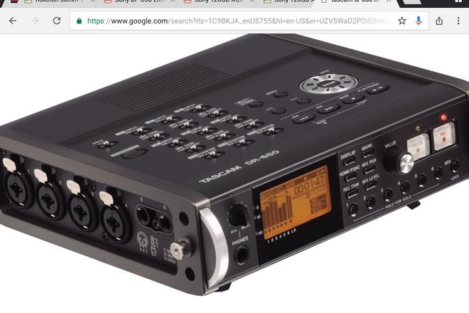 Tascam DR-680 8-Track Portable Multichannel Digital Recorder