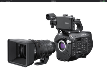Rent: Sony PXW-FS7 Super 35 Camera & Sony E PZ 18-110 cine zoom le
