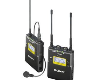 Rent: Sony UWP-D11 Wireless Lavalier System