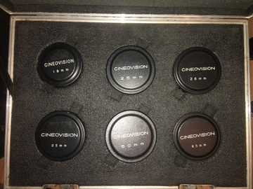 Rent: Cineovision Prime lens set of 6 T1.4 (uncoated) Vintage