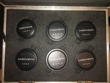 Rent: Cineovision Prime lens set of 6 T1.4 (uncoated) Vintage