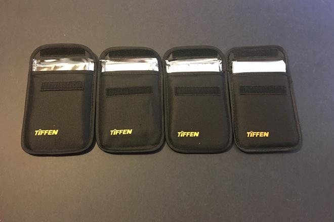 TiFFEN 4x5.65-in IRND Filter Set 0.3, 0.6, 0.9, 1.2