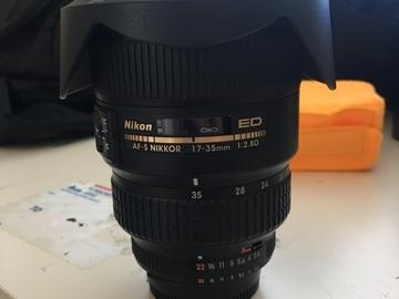 Rent: Nikon AF-S DX Nikkor 17-35mm f/2.8D IF-ED