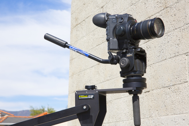 Kessler Pocket Jib w/ tripod and Manfrotto 501 head