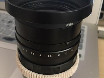 Rent: Voigtlander Nokton 17.5mm f/0.95 Lens for Micro 4/3 Cameras