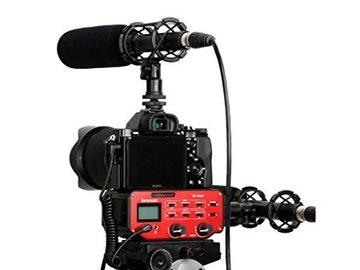 Rent: Saramonic SR-PAX2 Audio Adapter - DSLR