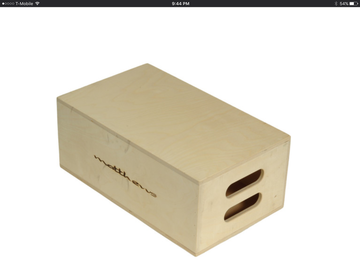 Rent: 4 Matthews apple boxes, 2 - full, 2 - half