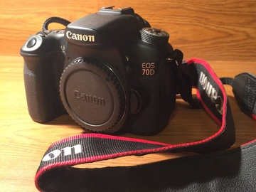Rent: Canon 70D (Body Only)