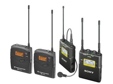 Rent: Sennheiser ew 100 ENG G3 + Sony UWPD11/42 Wireless Mic Kit