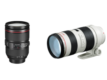 Rent: Canon EF Zoom Package (24-105mm and 70-200mm)
