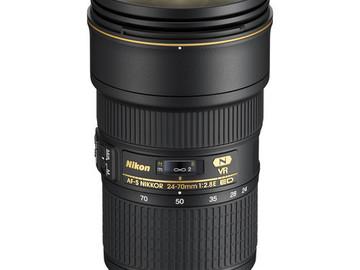 Rent: AF-S NIKKOR 24-70mm f/2.8E ED VR