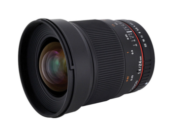 Rent: Rokinon 24mm f/1.4 Lens for Canon