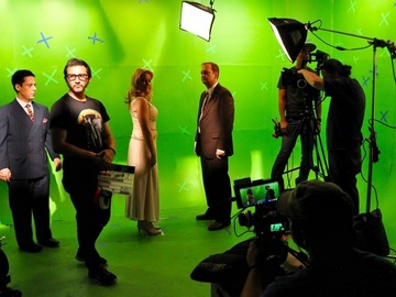 Rent: Green Screen Production Stage with Lights