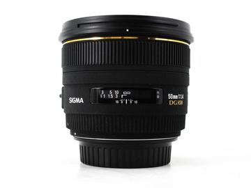 Rent: Sigma 50mm f/1.4 EX DG HSM, Canon EF Fit