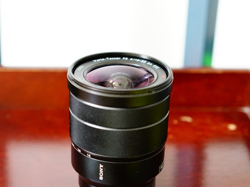 Rent: Sony Sel1635z sony 16-35mm f4.0 wide angle lens