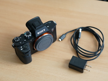Sony a7rii + 2 extra batteries