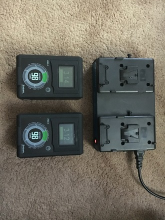 2 Core SWX HyperCore 98Wh 14.8V V-Mount Batteries