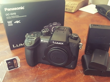Rent: Panasonic Lumix DC-GH5 Digital Camera w/ V-Log