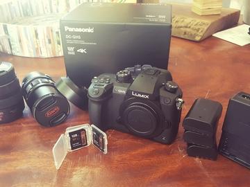 Panasonic GH5 w/V-Log + Lenses kit