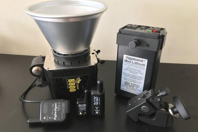 Paul C. Buff Alien Bee 800 Lighting Kit