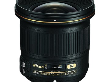 Rent: Nikon FX 20mm f/1.8