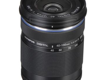 Rent: Olympus M. 40-150mm F4.0-5.6 R Zoom Lens (Black) for Olympus