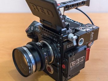 RED Epic-W Helium 8K S35 package with DP, Cam Op, AC, or DIT