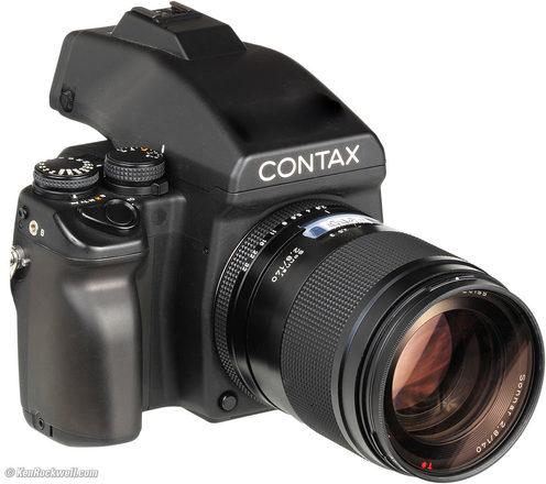 Contax 645 Medium Format Camera Outfit