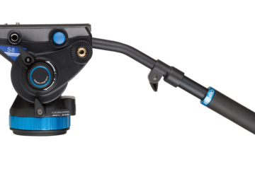 "Rent: Benro S8 Pro Video Head with Flat Base (3/8""-16 Connection)"