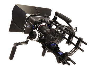 Rent: Tilta Universal Shoulder Rig, Baseplate w/Shoulder Pad, 4x4