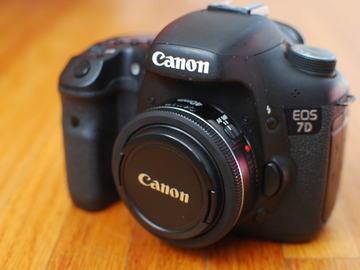 Rent: Canon EOS 7D (40mm Lens Optional)