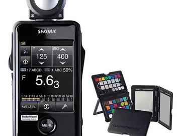 Sekonic LiteMaster Pro L-478DR Light Meter and X-Rite ColorC