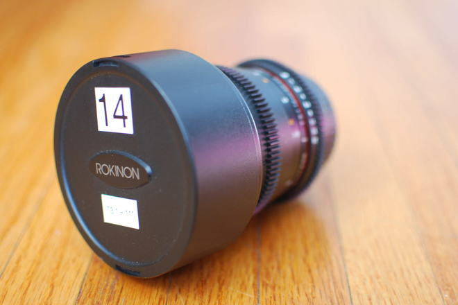 Rokinon Cine 14mm T3.1