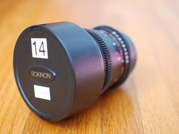 Rent: Rokinon Cine 14mm T3.1