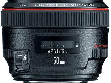 Canon EF 50mm f/1.2 L USM