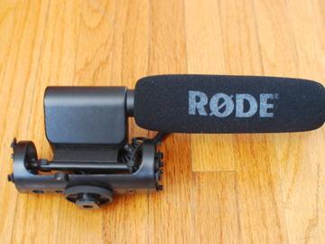 Rent: Rode VideoMic On-Camera Shotgun Microphone