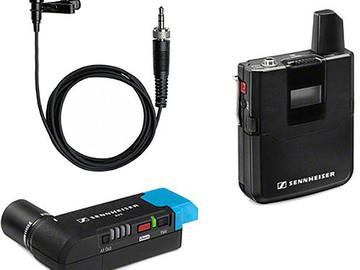Rent: Sennheiser AVX Camera-Mountable Lavalier Set