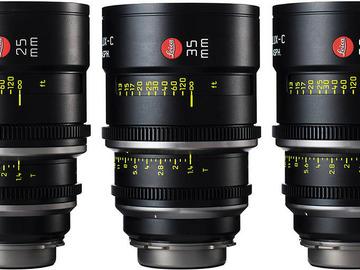 Rent: Leica Summilux-C T1.4 Lens Set (5)