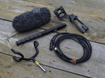 Sennheiser ME66 Shotgun Mic Package