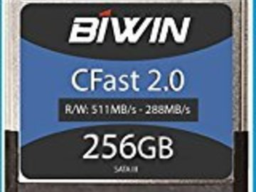 Rent: BWin  CFast2.0 256GB card package for Todd