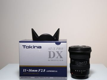 Rent: Tokina  11-16mm for Canon