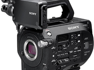 Sony FS7 - Camera w/Shoulder Baseplate and Rods