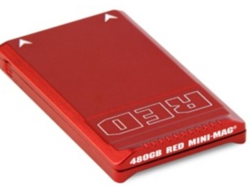 Rent: RED MINI-MAG - 480GB New speeds to support higher frame