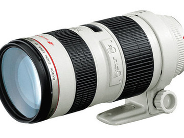 Rent: Canon 70-200mm f/2.8 L IS II USM w/ Focus Gear & 15mm Suppor