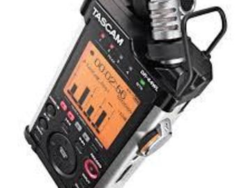 Rent: Tascam DR-44WL Portable Handheld Recorder