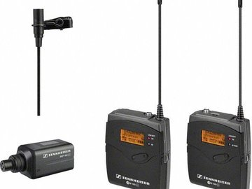 Rent: Seinheisser 4pc ENG Wireless Set Trans/Rec/Lavalier